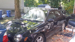 2002 Subaru WRX Sedan w/ Addons. Needs new engine