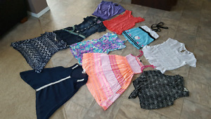 Assorted summer clothing