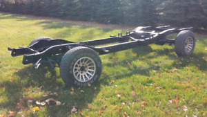 truck chassis GMC 1966 910 model