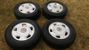 215/70 R15 tires and wheels for Mercury Villager