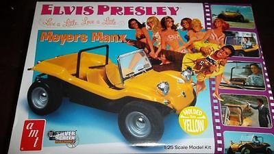 AMT Elvis Presley Meyers Manx Dune Buggy model kit molded in yellow 1/25
