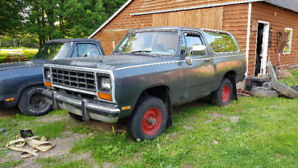 1989 Dodge RamCharger $4500 OBO/Trades