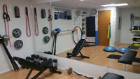 Women's Personal Training Private Studio Sherwood Park