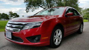 2012 Ford Fusion No Accidents, Low Km