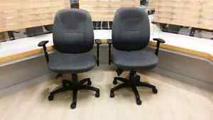 Chairs for reception desk.