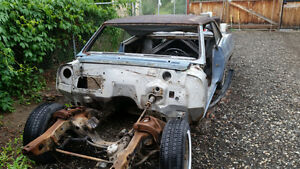 66 skylark restoration or complete parts car