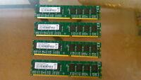 4GB 1GB X4 DDR 400 200MHz PC-3200 NON-ECC 184 pin DIMM