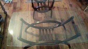 Glass Coffe Table & End Table