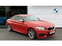 2018 BMW 2 Series M240i 2dr [Nav] Step Auto Petrol Coupe Coupe Petrol Automatic