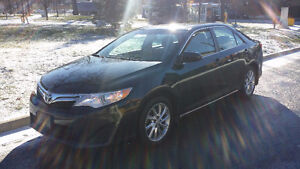 2013 Toyota Camry LE  in mint condition one owner only 135,901km