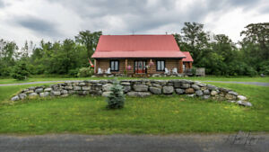 NEW PRICE LOG HOME on 13 ACRES!