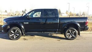 2014 RAM SPORT 20' RIMS AND TIRES WITH SENSORS