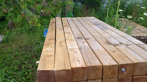 "5""x5"" x 8' sienna Posts -new pressure treated - Fence deck posts"