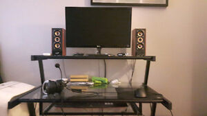 Gaming system with peripherals the