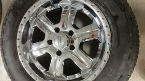 Summer tires and rims. Size 235/65/17