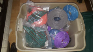 Network Cable RJ45 CAT6 25' to 100' Lengths NEW