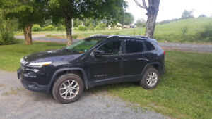 2015 jeep cherokee with 2 sets of tires