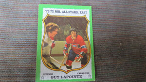Guy Lapointe 1973-74 NHL card