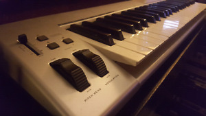 M audio keystation 49e keyboard midi usb controller
