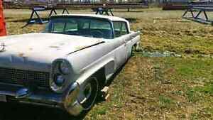 1958 LINCOLN AND A PARTS CAR 2 FOR 1 $2900 O.B.O.  London Ontario image 5