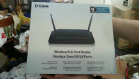 D-Link Wireless N 8-Port Router DIR-632