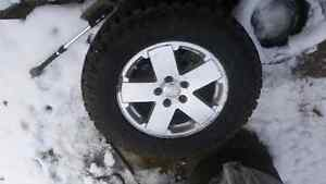 jeep wrangler winter tires and rims  West Island Greater Montréal image 1