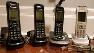 Panasonic cordless phone set with answering machine