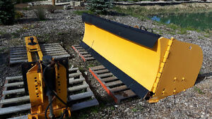 10-16' snow plow with sub frame - great shape