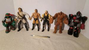 WWE, pirate des caraibe, clayface
