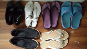Urgent: A bunch of shoes, sandles need to go.