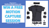 contest to win motion capture session with GhostFX