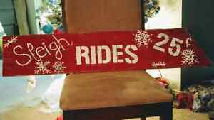 Barn Board Holiday Signs
