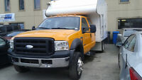 2007 FORD F550 4X4 ***2 EN INVENTAIRE!!!**TRES BAS KM CERT.!!***