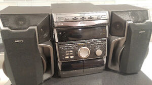 Sony Stereo system Model No. HCD-VX7A used once only!!