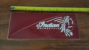 Indian Motorcycle sticker cover OEM harley HD chief scout collan