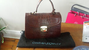 Cynthia Rowley crocodile lady bag London Ontario image 1