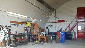 Fully equipped welding shop - priced for quick sale