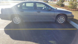 2004 Chev Impala low KM for sale by owner