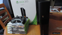 Xbox 360, 320Gb, 26 games, tons of downloads