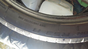 Reduced Must sell * $ Zeon performance tires - 255 35 18 summer