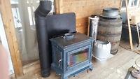 Beautiful Heritage soapstone wood stove