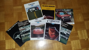 BROCHURE AUTOMOBILE DU CONCESSIONNAIRE 1977 +++++