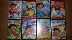 Dora DVD movies collection