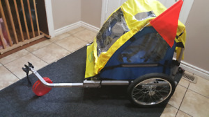 For sale new in box WeeRide stage coach kids bike trailer