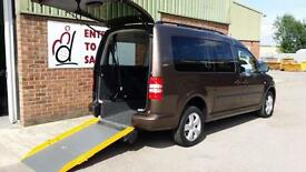 2013 VW Caddy Maxi Life Diesel Wheelchair Disabled Accessible Vehicle