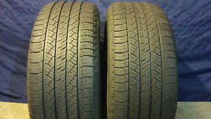 265/60/R18 - Pair of used tires good shape - Michelin Latitude