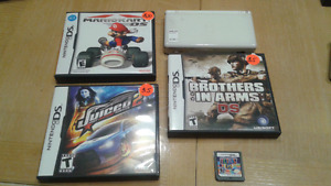 Ds lite with games bundle