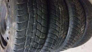 For Sale - 4 Nexen Winguard P215/60R16 Tires & Rim