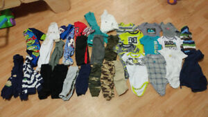 3-6 mth lot of boys clothes