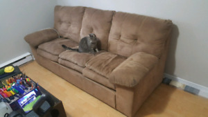 Couch - moving friday, pick up only